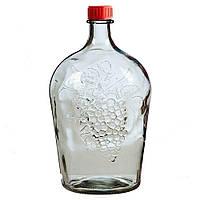 """Бутылка с пластмассовой крышкой """"Ровоам"""" 4,5л"""