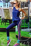 Эластичный тренировочный костюм Gepur Resort 12313
