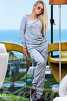 Универсальный велюровый костюм Gepur Azure 12872