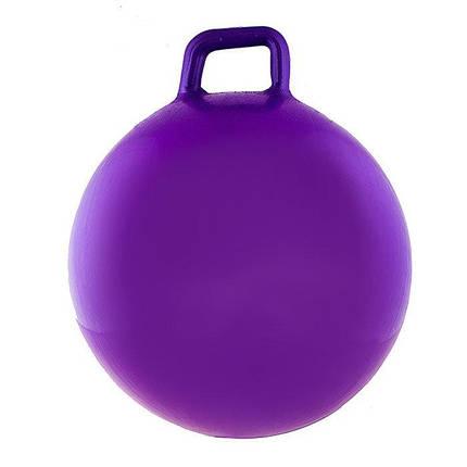 Мяч для фитнеса с ручкой для фит бола 65 см 1000 г, фото 2