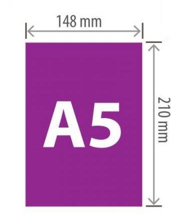 Услуги печати (брендирования) на Экосумках формат А5.