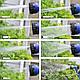 Садовый шланг 60м, для полива X-HOSE 60м, поливочный растягивающийся чудо-шланг Стрейч Хоз,насадка распылитель, фото 5