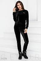 Мягкий бархатный костюм Gepur Imagination 24508