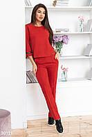 Замшевый женский костюм Gepur Comfort 30121