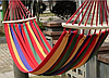 Гамак мексиканский подвесной с каркасом 200 х 120 см гамачок с поперечной планкой, Акция, фото 2