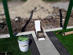 Монтаж искусственной травы, фото 3