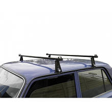 Багажник на крышу авто Кенгуру Уни 128см - универсальный, для авто с водостоком или спецкреплением