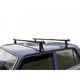 Багажник на крышу авто Кенгуру Уни 140см - универсальный, для авто с водостоком или спецкреплением, фото 2