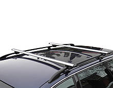 Багажник на крышу авто Кенгуру Рейлинг Аэро 120см - универсальный, для авто с рейлингами