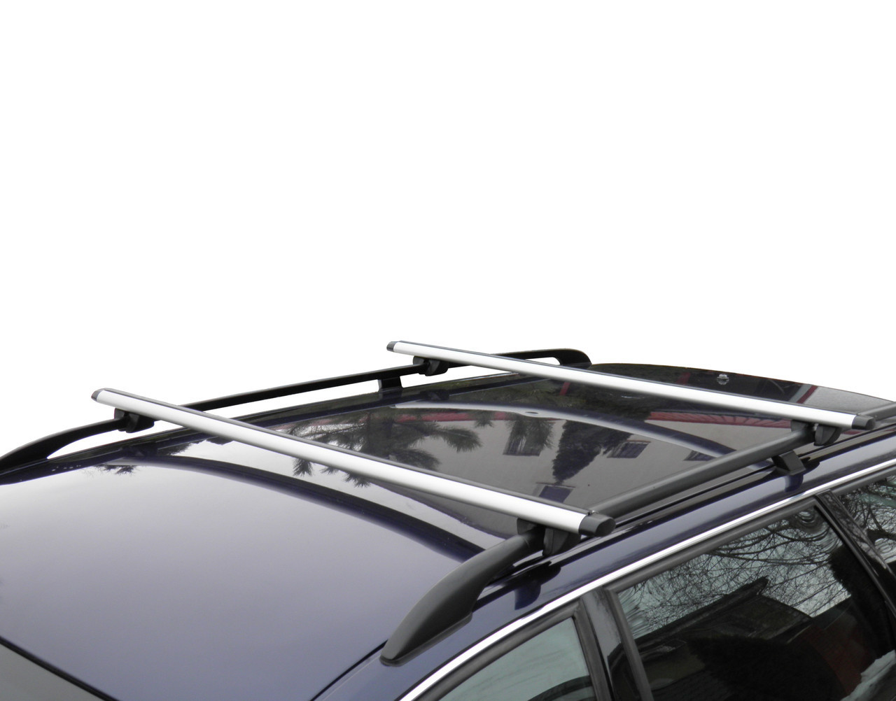 Кенгуру Рейлинг Аэро 130см - универсальный багажник на крышу авто со штатными рейлингами