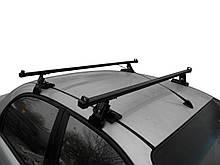 Багажник на крышу авто Кенгуру Кемел 120см - универсальный, на авто с гладкой крышей