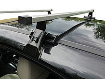 Багажник на крышу авто Кенгуру Кемел Люкс 120см - универсальный, на авто с гладкой крышей