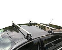 Багажник на крышу авто Кенгуру Кемел Люкс 140см - универсальный, на авто с гладкой крышей