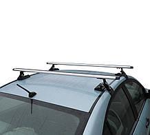 Багажник на крышу авто Кенгуру Кемел Аэро 130см - универсальный, на авто с гладкой крышей