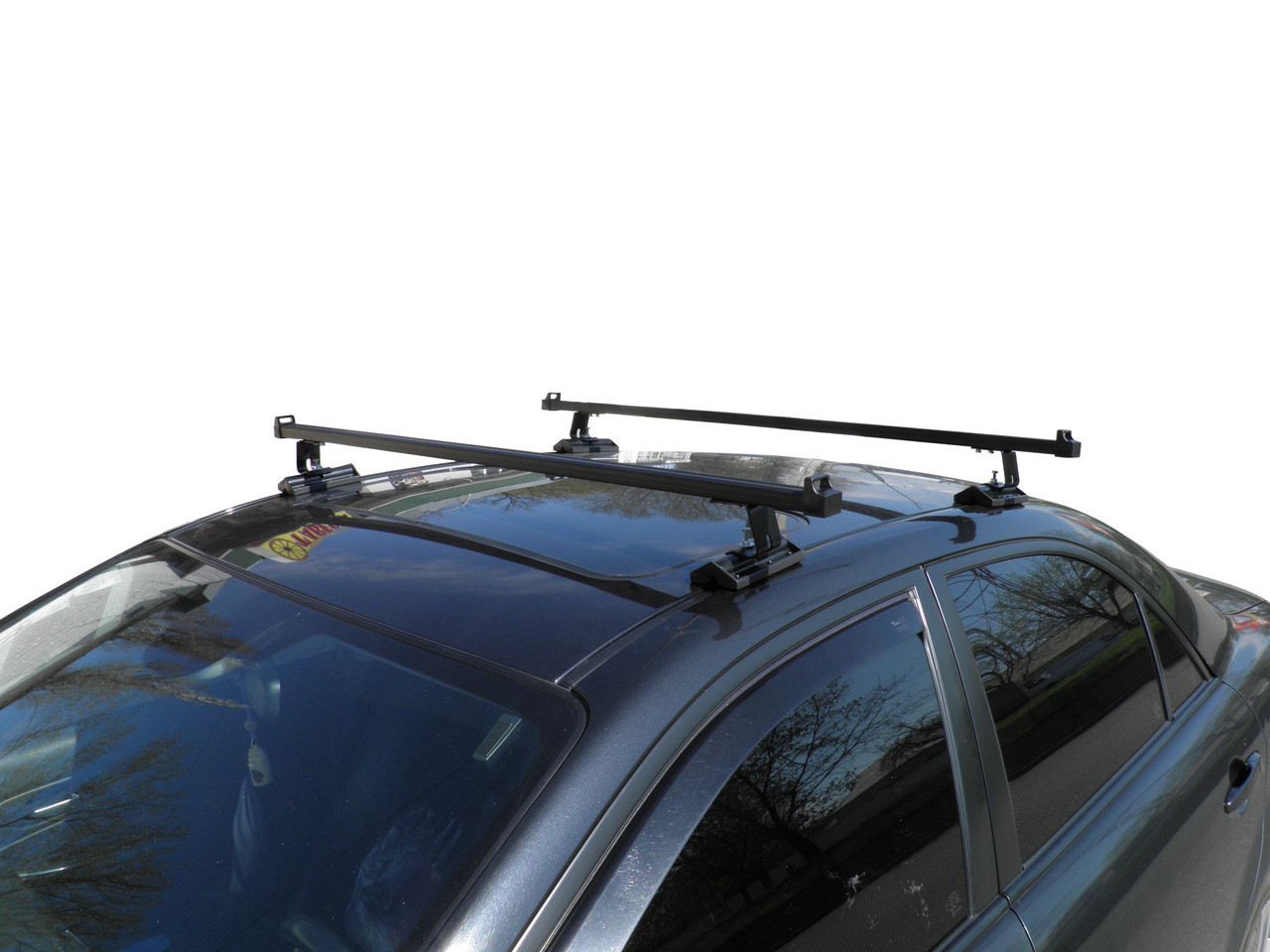 Кенгуру Комби 120см - универсальный багажник на крышу для авто со штатными местами установки