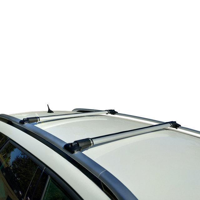 Кенгуру Рейлинг Стелс 1шт (с замками) - багажник на крышу авто с интегрированными рейлингами