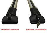 Кенгуру Рейлінг Стелс конструктор L 100см 2шт (c замками) - багажник на інтегровані рейлінги, фото 4