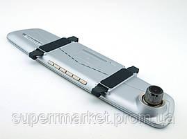 """Car DVR A11  V100  автомобильный регистратор-зеркало, сенсорный экран 7"""" с двумя камерами, фото 3"""