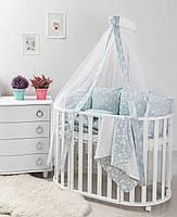 Детская постель Twins Dolce Лесные жители 8 эл D-012, фото 1