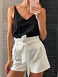 Женский костюм: майка софт и шорты с высокой посадкой (в расцветках), фото 2