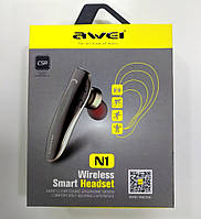 Bluetooth  гарнітура Awei N1 Wireless Smart Headset, фото 1