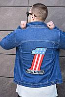 Джинсовая  куртка летняя мужская Harley Davidson