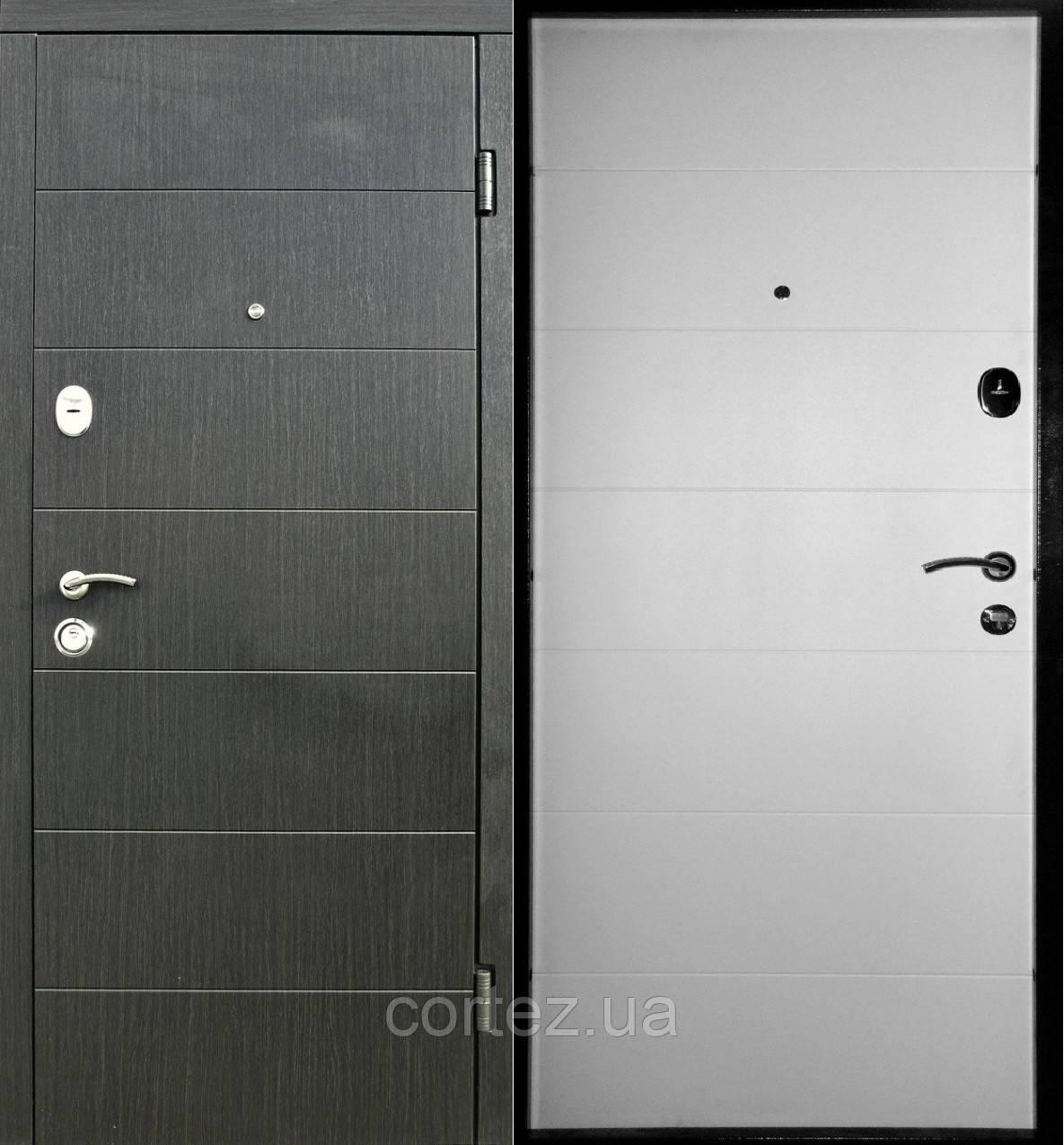 Двери входные Премиум+207 полотно 86 мм