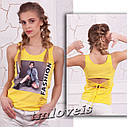 Майка Fashion 2 ТМ Loveis для девочек Размеры 140- 170 , фото 2