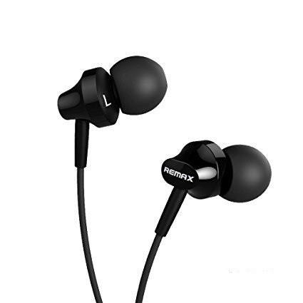 Вакуумные наушники с микрофоном REMAX RM-605 Черные