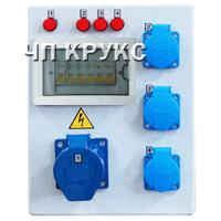 Электрощит розеточный ЭЩР-П-3-1ТА