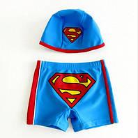 Плавки с шапочкой Супермен 5Т