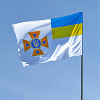 Флаг ДСНС Украины