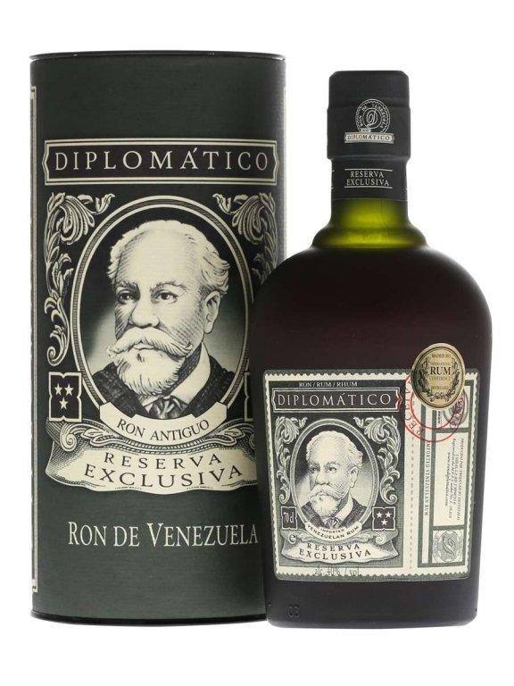 Ром Diplomatico Reserva Exclusiva 12 Years Old (Дипломатико Резерва Эксклюзив) 40%, 0,7 литра