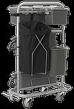 Універсальний візок Slimliner для комплексного прибирання, Vikan (Данія), фото 3