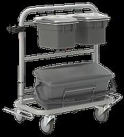 Універсальний візок Slimliner для комплексного прибирання, Vikan (Данія)