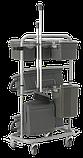 Універсальний візок Slimliner для комплексного прибирання, Vikan (Данія), фото 8