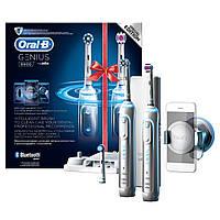 Набір електричнихзубнихщітокBRAUN Oral-B Genius PRO 8900White 2шт