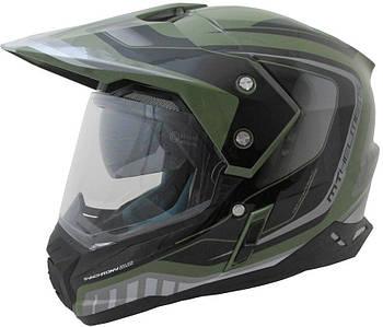 Мотошлем MT SYNCHRONY DUO SPORT TOURER green military