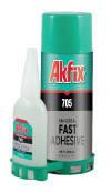 Клей с активатором для экспресс склеивания Akfix 705 (200мл+50мл)