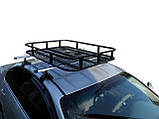 Грузовая корзина на крышу авто Кенгуру Экспедиция S (с бортами и спойлером), фото 5
