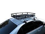 Грузовая корзина на крышу авто Кенгуру Экспедиция S (с бортами и спойлером), фото 6