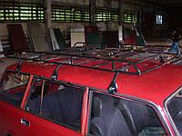 Грузовая корзина на крышу ВАЗ 2104, ВАЗ 2102, ВАЗ 2131 Нива - Десна-Авто 1700х1200мм (неразборная)