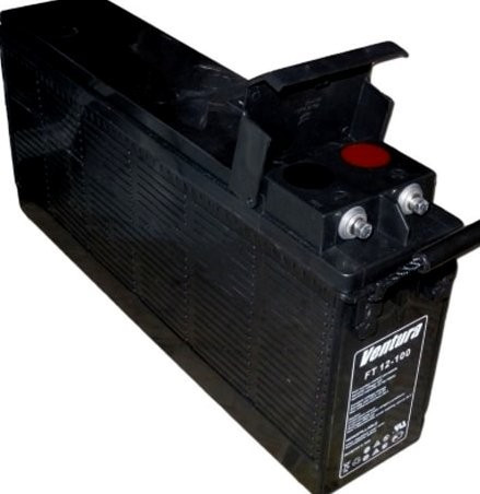 Аккумулятор Front Terminal AGM - 100 Ач, 12В гелевый Ventura FT12-100