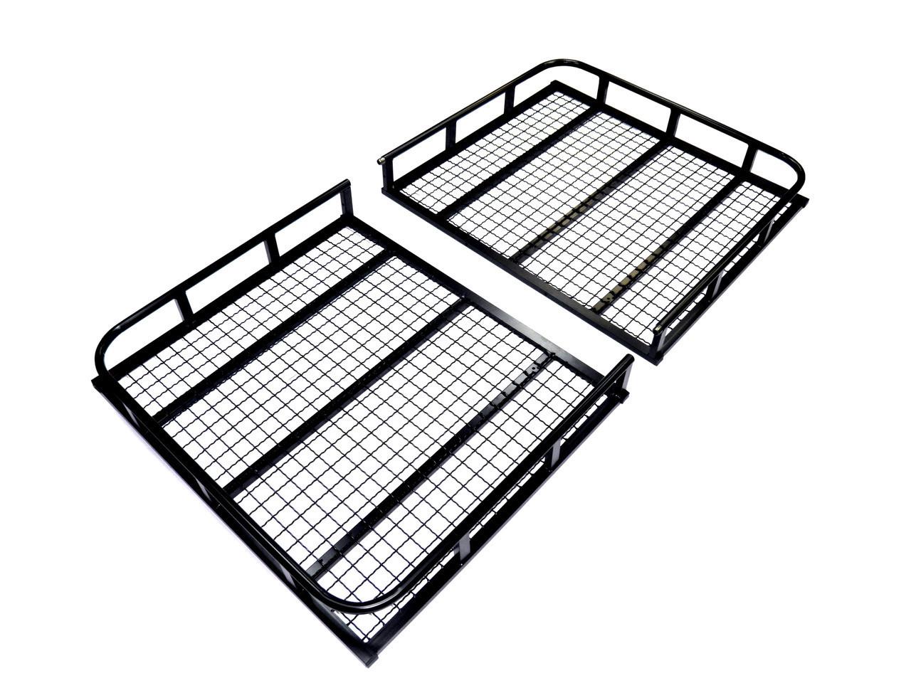 Кенгуру Еверест Плюс (без поперечок) - вантажний кошик з бортами на дах авто