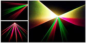 Аренда спецэффектов - туман машина и диско лазерный проектор RGY DMX. С пультом ДУ