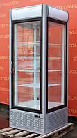 Холодильный шкаф витрина кондитерская «Технохолод ШХСД» 0.7 м. (Украина), новый компрессор, Б/у, фото 1