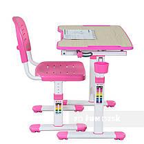 Растущая парта для ребенка FunDesk Piccolino II Pink - ОПТОМ ДЛЯ ШКОЛ, фото 3