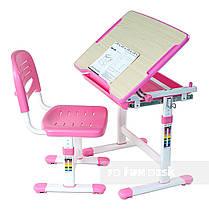 Комплект парта и стул-трансформеры FunDesk Piccolino Pink - ОПТОМ ДЛЯ ШКОЛ, фото 2
