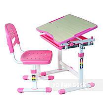 Комплект парта и стул-трансформеры FunDesk Piccolino Pink - ОПТОМ ДЛЯ ШКОЛ, фото 3