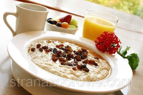 Здоровый завтрак: